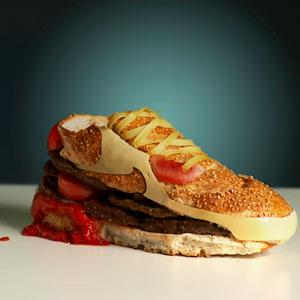 Nike Air Max 90 Burger SneakerSwedish designer Olle Hemmendorff