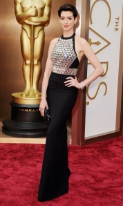 Anne Hathaway wearing Gucci