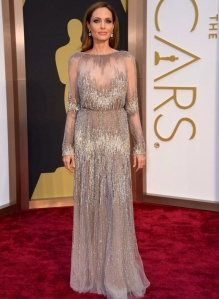 Angelina Jolie wearing Elie Saab