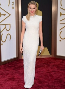 Naomi Watts wearing Calvin Klein