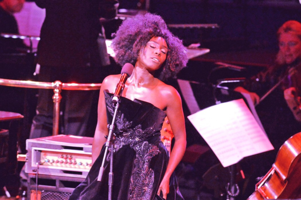 Parveen Devi Review. BBC Proms Lare Late Night With Laura Mvula
